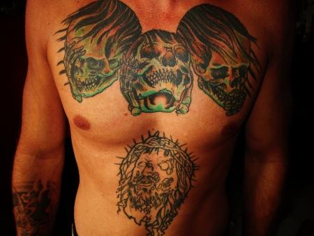 Nichts hören nichts sehen nichts sagen tattoo