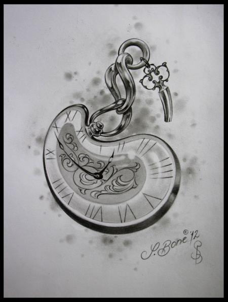 Taschenuhr Tattoos Und Taschenuhrbilder