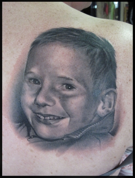 Portrait vom Sohn