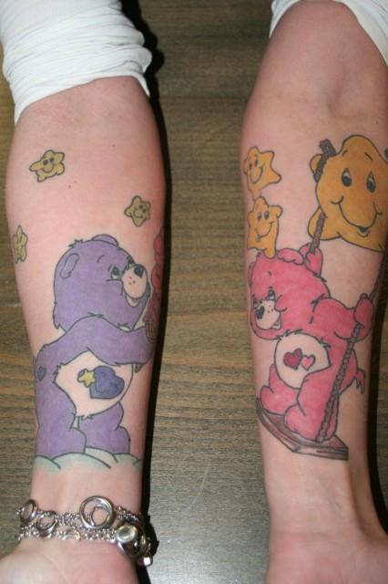 glücksbärchis tattoo