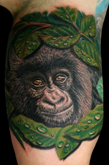Baby Gorilla, 4,5 Stunden Arbeit