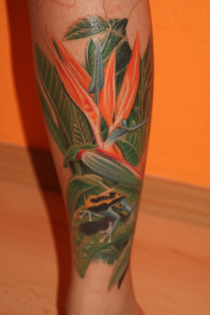 Tropisches Tattoo Teil 1