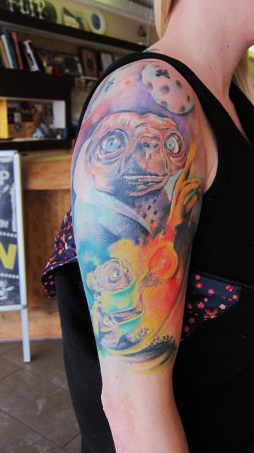 E.T Start eines Sleeves
