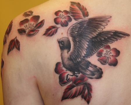red bone tattoo gera vogel tattoos von tattoo. Black Bedroom Furniture Sets. Home Design Ideas