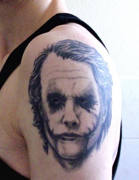 "Joker (aus ""Batman: The Dark Knight"") / Heath Ledger"