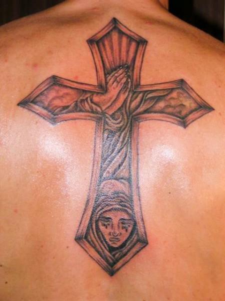 Kreuz mit innenleben