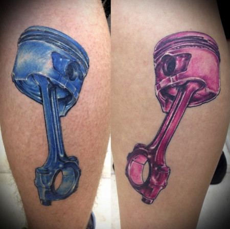 Tattoo Kolben