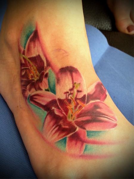 Blumen-Tattoo: Blumen