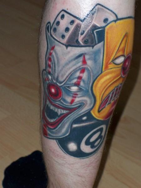 masken-Tattoo: Masken