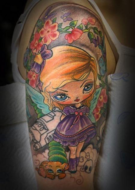 mädchen-Tattoo: ...was für Mädchen