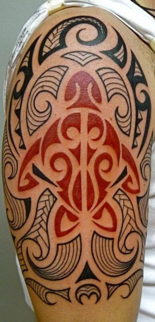 Polynesischer Stil - Freihand - Dauer 6 Std.