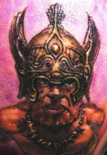 Detail Keltischer Krieger