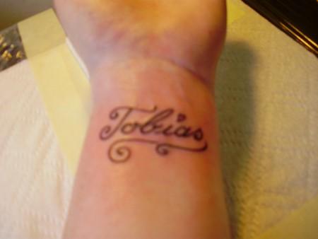 """Mein erstes Tattoo, """"Tobias"""""""