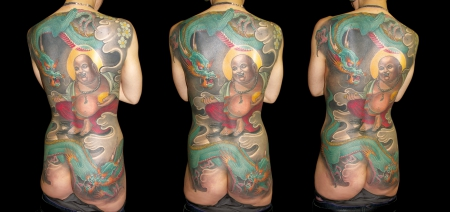 japan-Tattoo: Tattoos by Marcuse @Smilin' Demons Tattoo Mannheim
