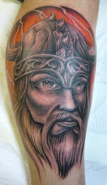 wikinger-Tattoo: wikinger