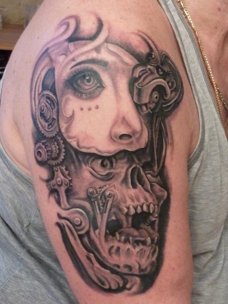 Steini Hinter Der Maske Tattoos Von Tattoo Bewertungde