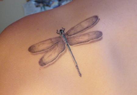 smoothie libelle tattoos von tattoo. Black Bedroom Furniture Sets. Home Design Ideas