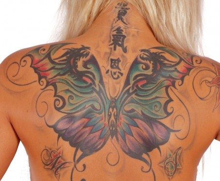 china-Tattoo: Butterfly