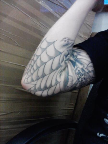 kevin1990: old school rock`n roll | Tattoos von Tattoo