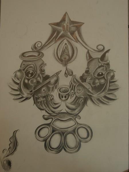 Sketch for logo 3 hours