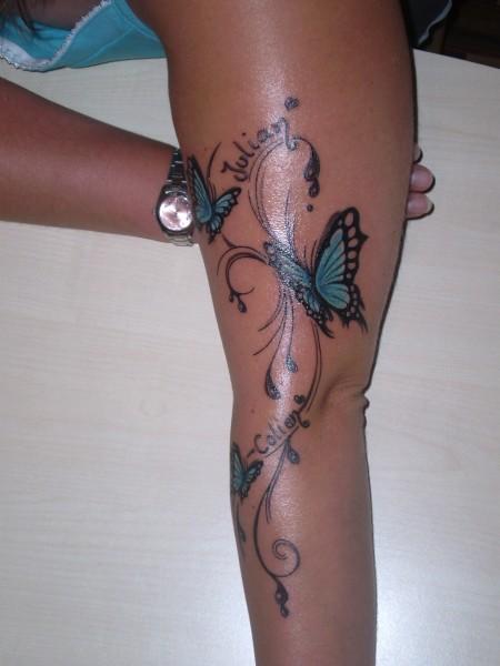 Tattoo Namen Oberarm