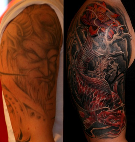 Cover up, 12 Stunden Arbeit