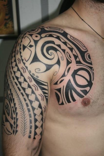 Maori / Polinesian Tattoo Pt.1