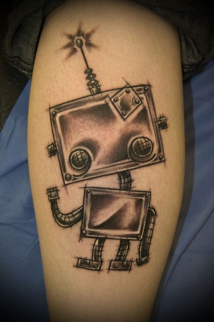 Roboter Skizze