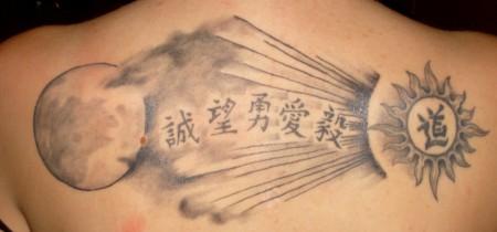 Markedforlife Sonne Mond Und Sterne Tattoos Von Tattoo Bewertungde