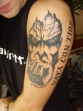 onkelz-Tattoo: