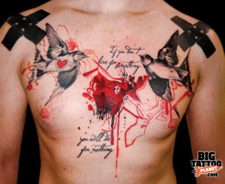 china-Tattoo: Kosten eines Tattoos in diesem Umfang!