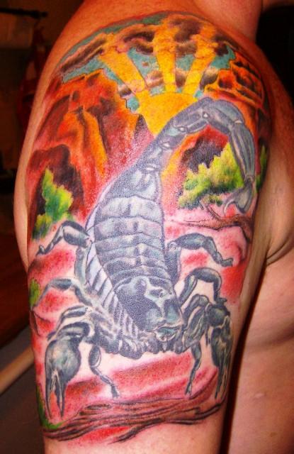 suchergebnisse f r 39 skorpion 39 tattoos tattoo bewertung. Black Bedroom Furniture Sets. Home Design Ideas