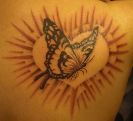 Schmetterling im Herz