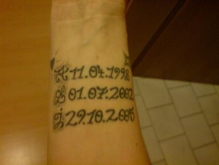 Ali11129 Meine Kinder Tattoos Von Tattoo Bewertung De