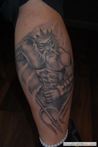 seidel nacked warrior wassermann tattoos von tattoo. Black Bedroom Furniture Sets. Home Design Ideas