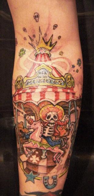 Freaking-Karusell linker Unterarm