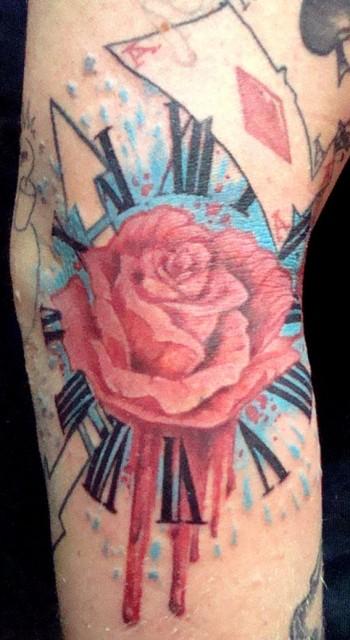 tattoofreestyle blume rechte armbeuge tattoos von tattoo. Black Bedroom Furniture Sets. Home Design Ideas