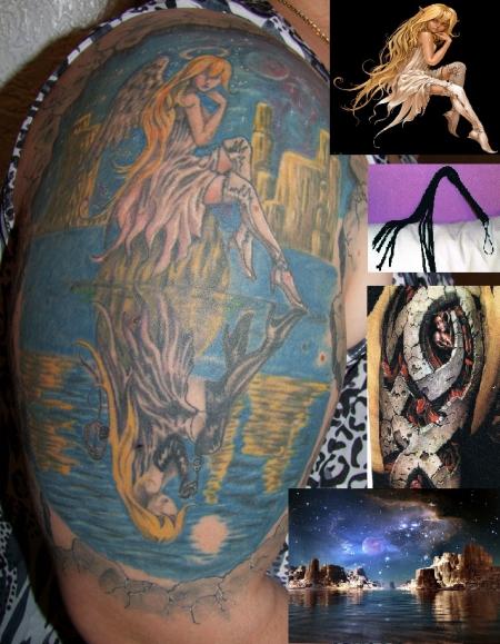 tattoos zum stichwort karten tattoo lass. Black Bedroom Furniture Sets. Home Design Ideas