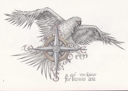 Adler Kompass