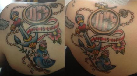 cupcake-Tattoo: Mein Neues