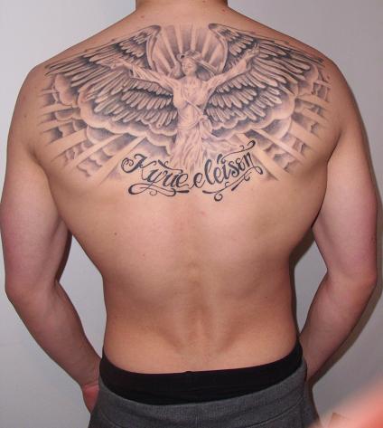 Rücken engelsflügel tattoo Engelsflügel tattoo