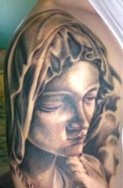 madonna-Tattoo: Ein tolles Teil (für mich