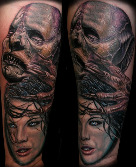 Handgelenk-Tattoo: Underworld