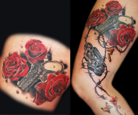 Gestochen von Dimi Stay Godfathers Tattoo Nürnberg