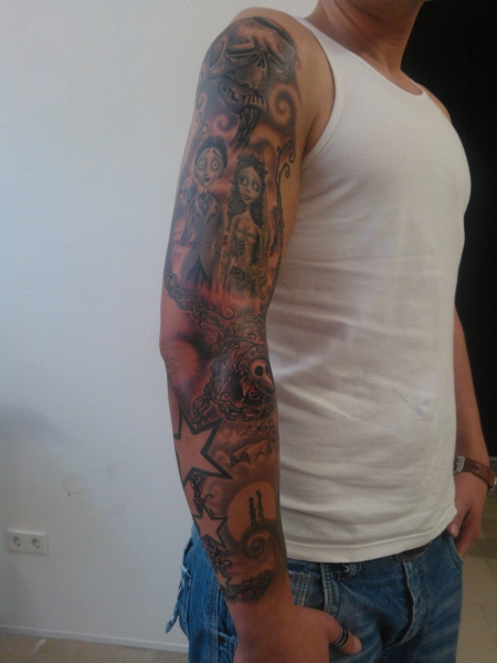 Tim Burton Sleeve (1)