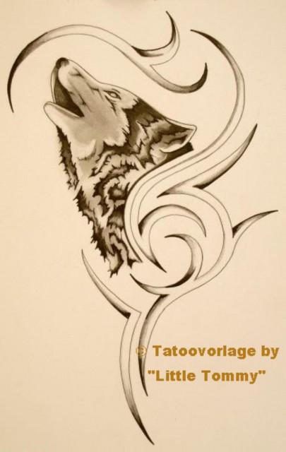36 Wolf Tribal Tattoo Vorlagen Vorlagen Tribal Wolf Tattoo