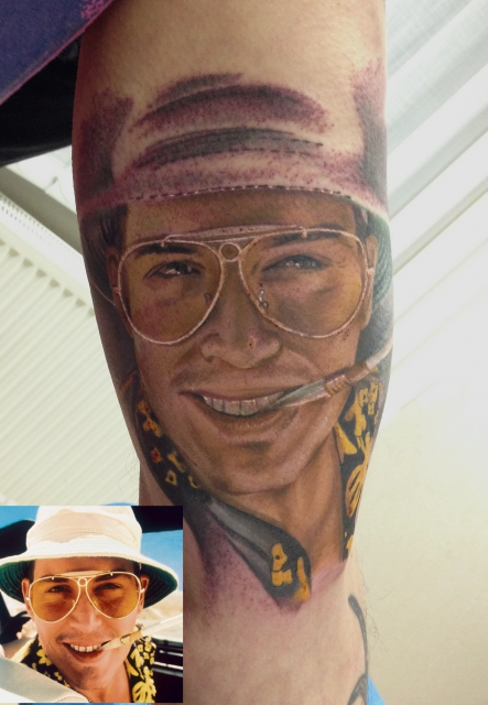 Chrischi84 Fear And Loathing In Las Vegas Tattoos Von Tattoo