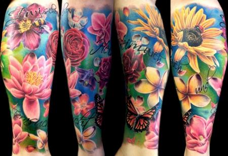 Blumen-Tattoo: Blümis