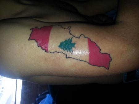 Libanon tatto