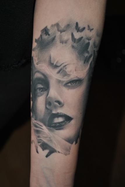 Porträt by Tye Harris (Unterarm)